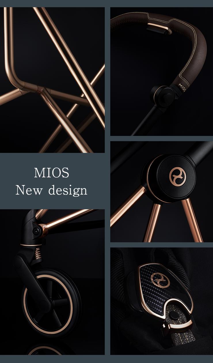 画像のみに差し替え。MIOS New design