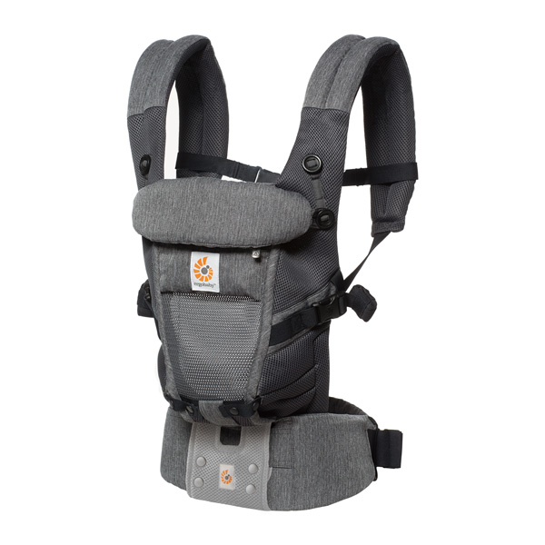 ErgobabyCarrier SG エルゴ アダプト クールエア/クラシックウィーブ